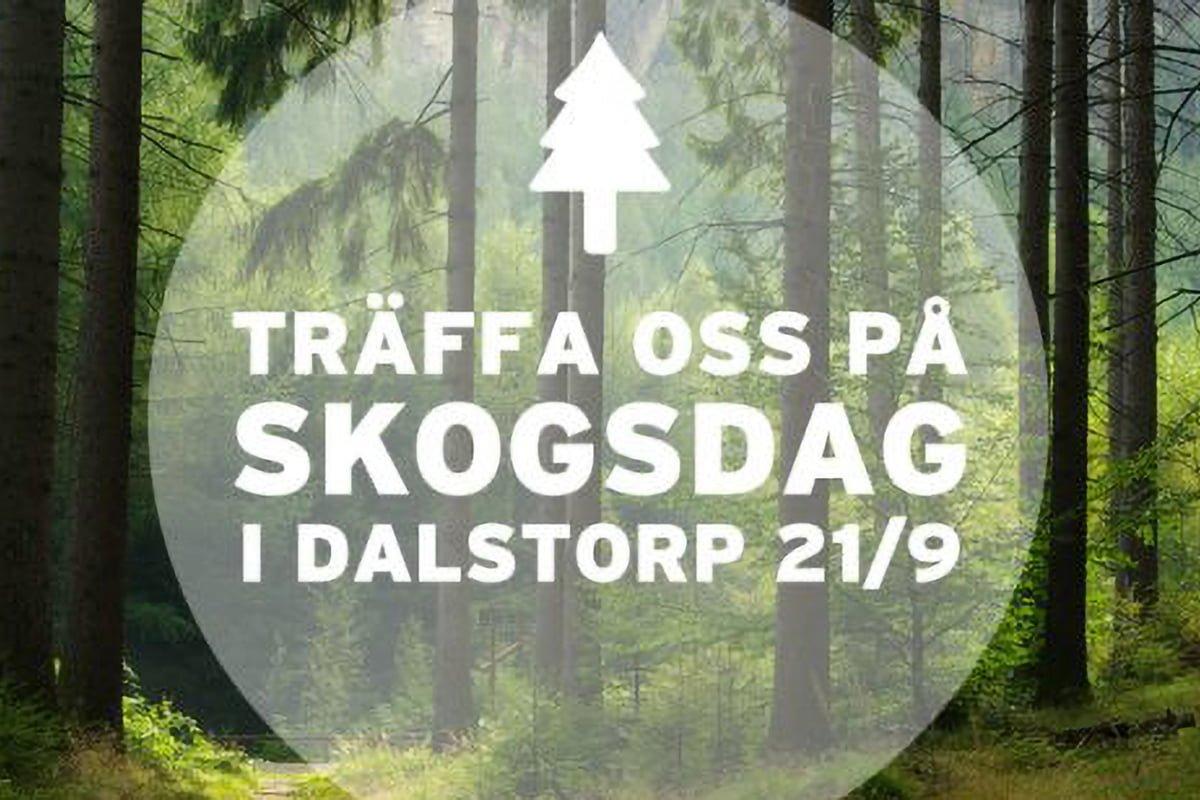 Träffa oss på Skogsdag i Dalstorp