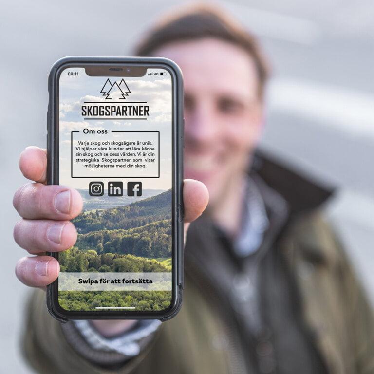 App Skogspartner Skogsanalys